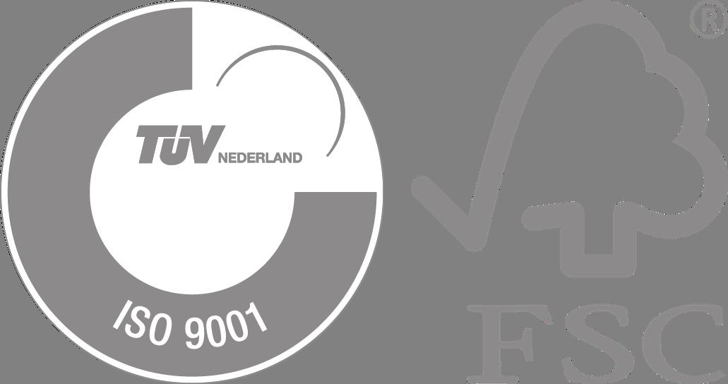ISO en FSC logo Schell Industries