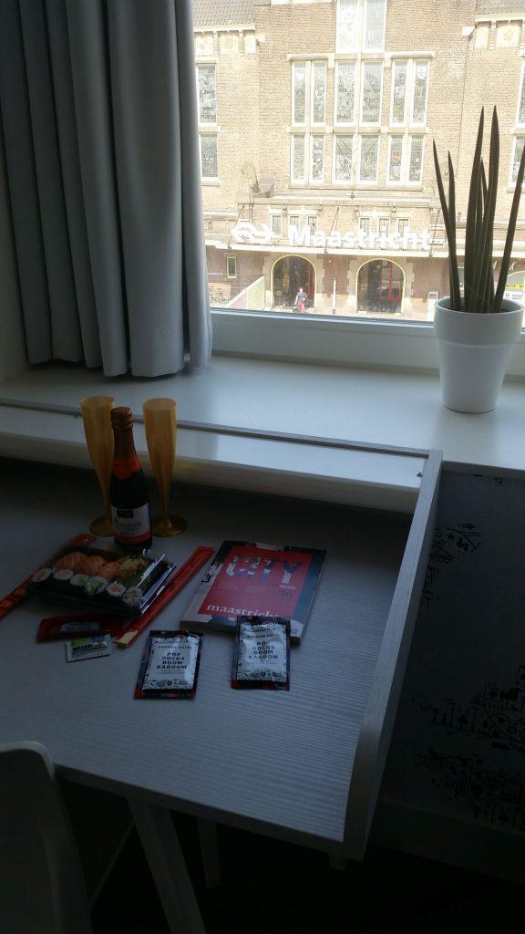 Maastricht hotel kamer